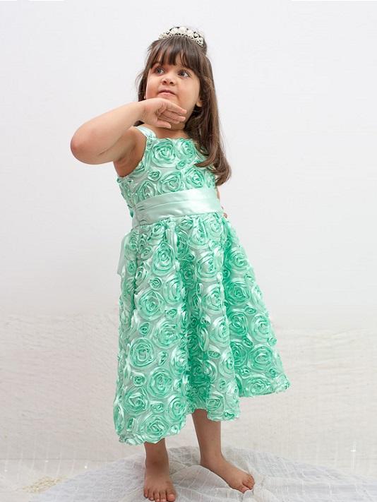 vestido_infantil_verde_florzinha