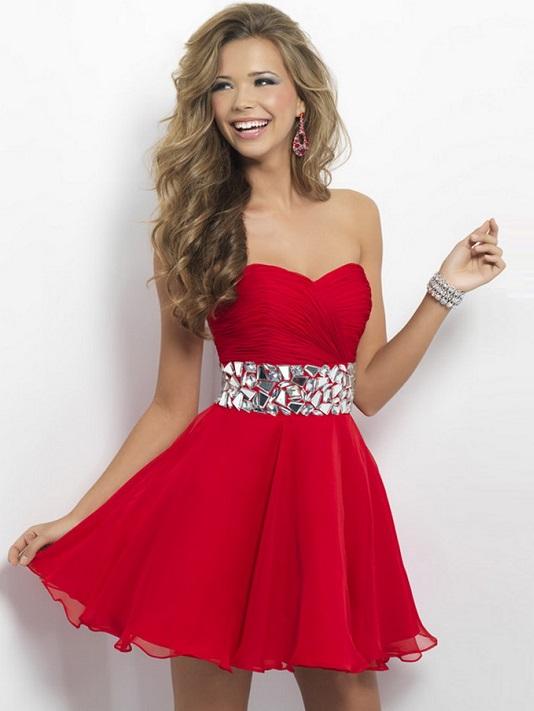 red-pleated-rhinestone-waist-short-blush-9683-prom-dress-copia