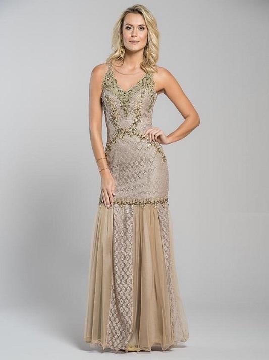vestidos de festa dourado, vestidos para casamentos dourado