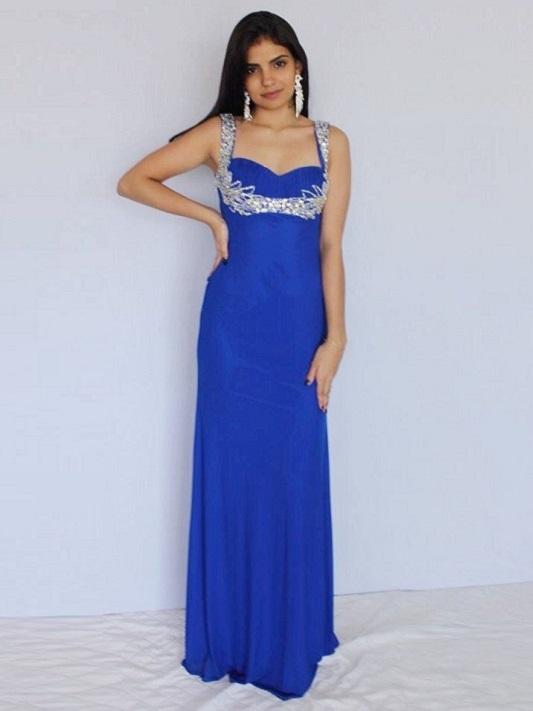 Vestidos longos de festa 2017,, azul marinho